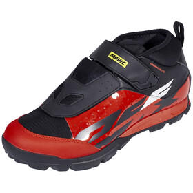 Mavic Deemax Elite Shoes Men Black/Fiery Red/Black